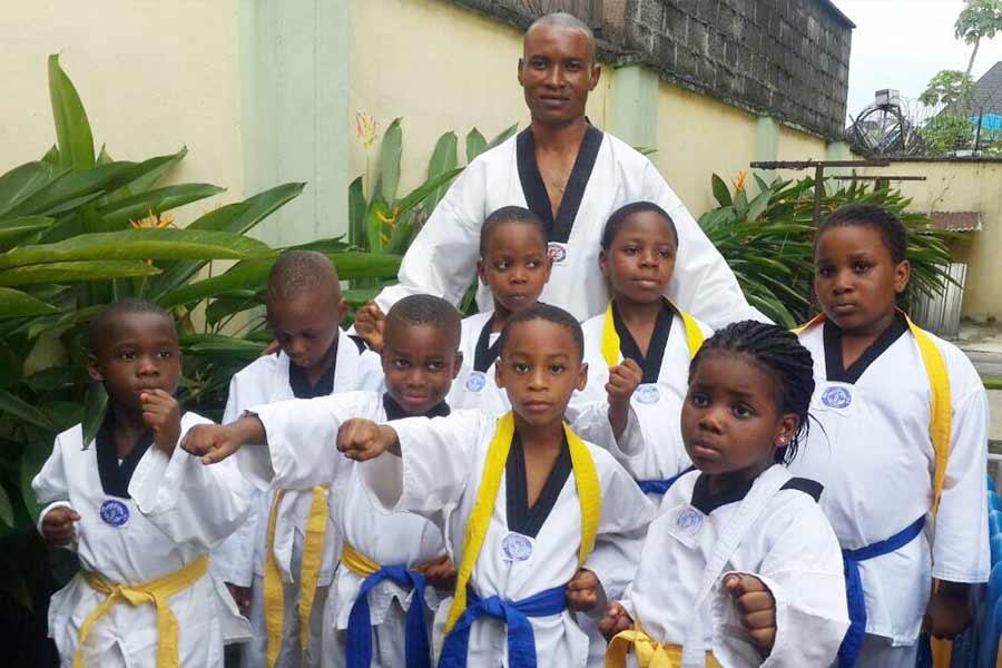Taekwondo classes at Kerridale Preparatory School