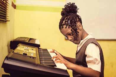 At Kerridale Preparatory School we offer music classes